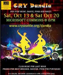 CRY Seattle Dandia