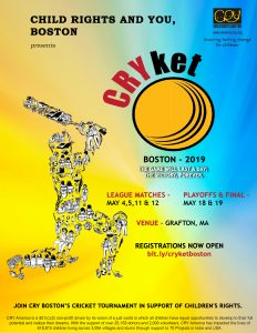 CRYket Boston 2019