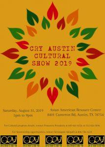 CRY Austin Culture Show 2019
