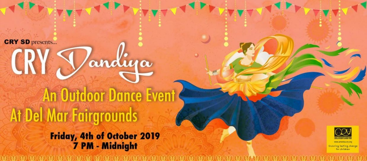 CRY San Diego Dandiya Outdoors - 2019
