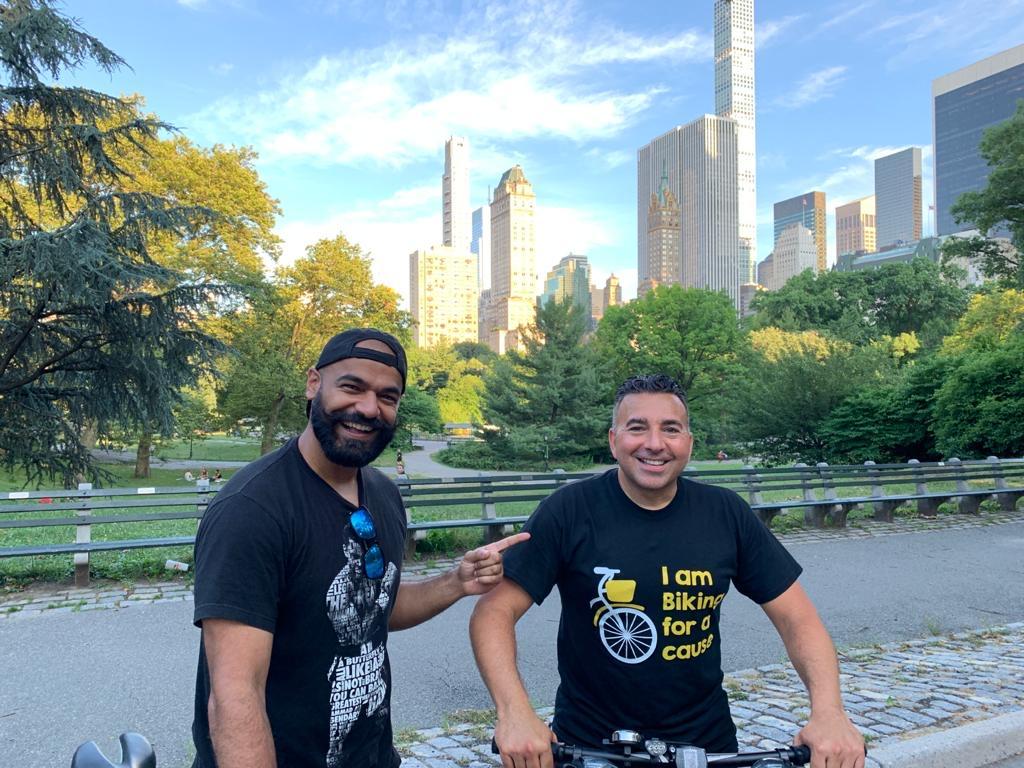 Cry America Patrick Bocco's 100k Bike4Kids 2020